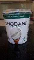 Chobani Greek Yogurt - Product - en