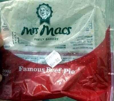 Famous Beef Pie - Product - en