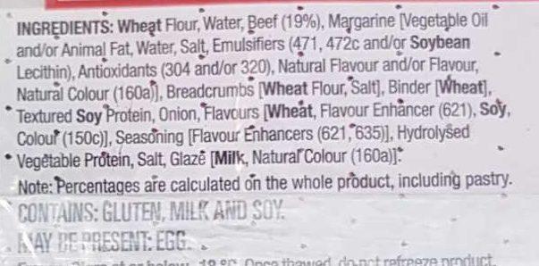 Giant Sausage Roll - Ingredients - en