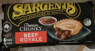 Sargents Premium Chunky Beef Royale - Product