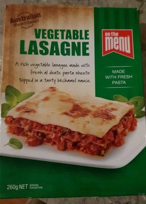 Vegetable Lasange - Product - en
