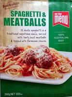 Spaghetti & Meatballs - Product - en