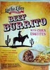 Beef Burrito - Produit