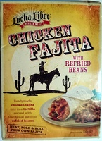 Chicken Fajita with Refried Beans - Product