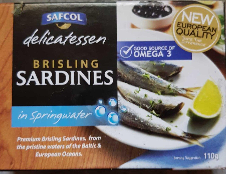 Brisling Sardines - Product
