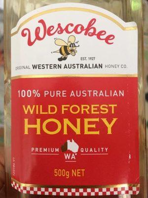 Miel Australien de Forêt Sauvage - Product - fr
