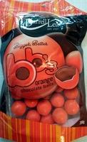 BBs Orange Chocolate Balls - Product