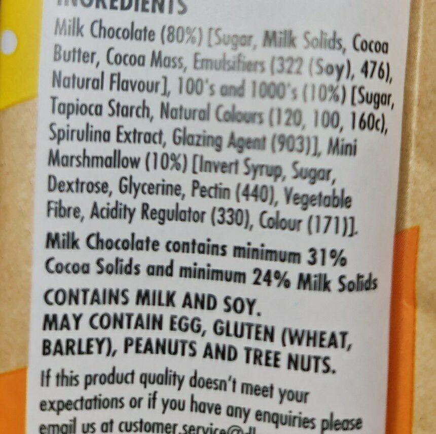 darrell lea fairy block - Ingredients - en