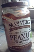 Peanut & Cacao Spread All Natural Certified Organic - Product