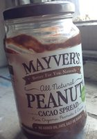 Peanut & Cacao Spread All Natural Certified Organic - Produit - fr