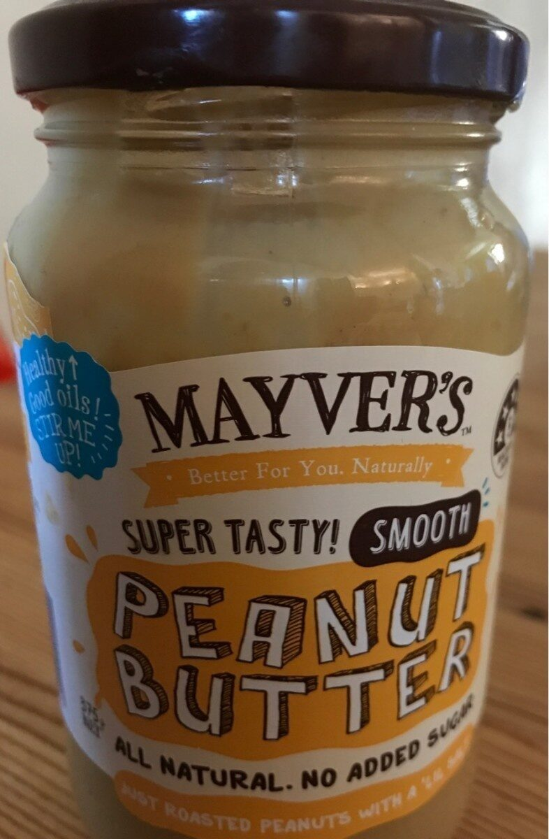 Mayvers Super Natural Smooth Peanut Butter - Produit - fr