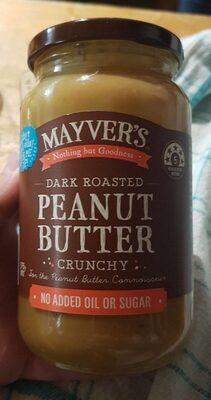Mayver's Peanut Butter Crunchy - Product - en