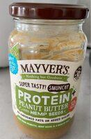 Peanut butter with hemp seed - Produit - en