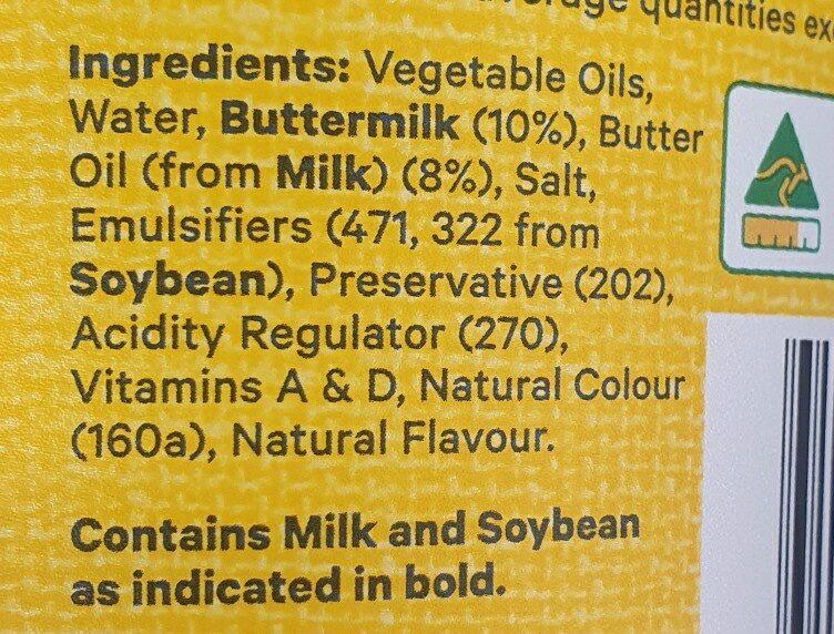 dairy blend - Ingredients - en