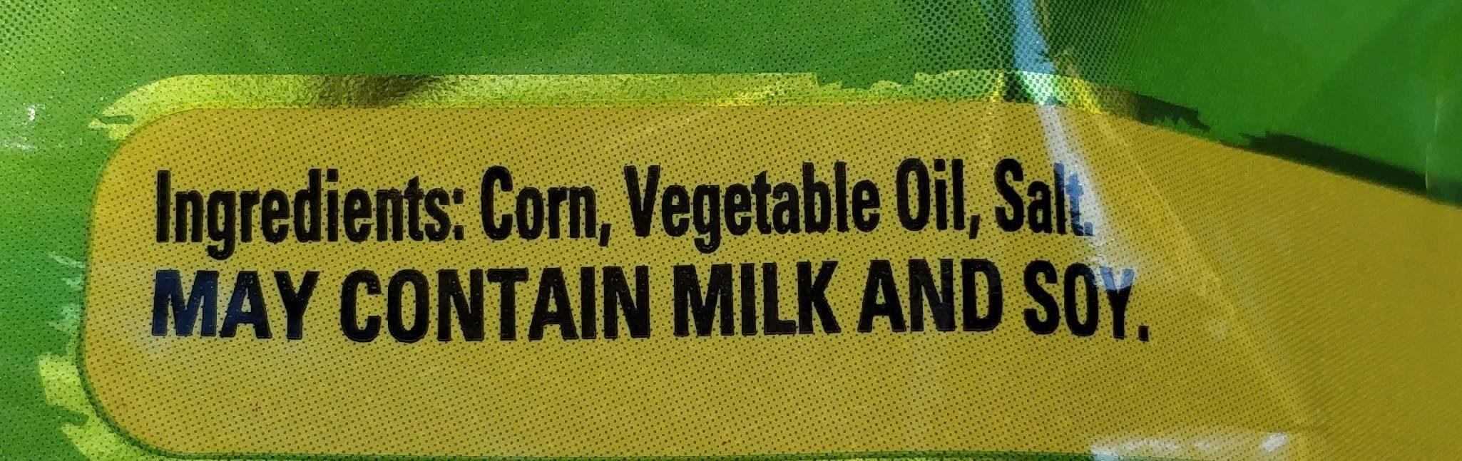 Cc's original - Ingredients