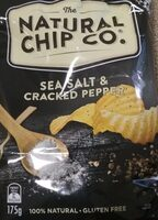 Sea salt & cracked pepper chips - Product - en