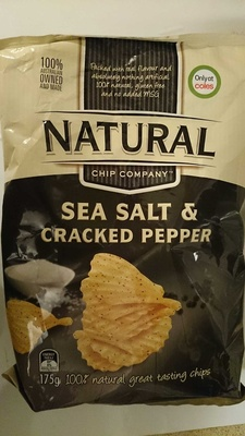 Natural Chip Company Sea Salt & Cracked Pepper - Product