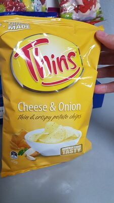 thins cheese and onion - Ingredients