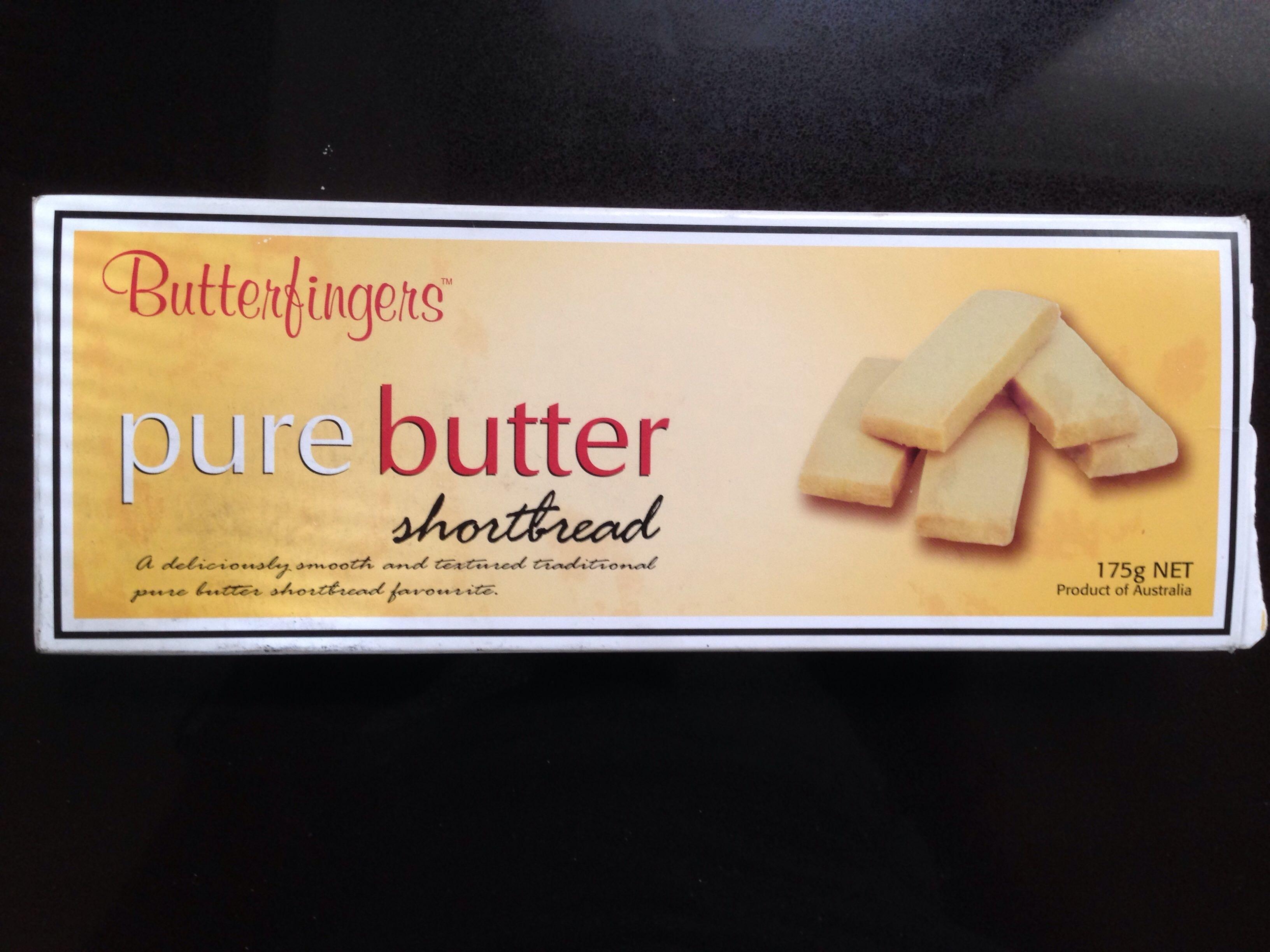 Pure Butter Shortbread - Product - en
