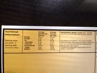 Pure Butter Shortbread - Nutrition facts - en