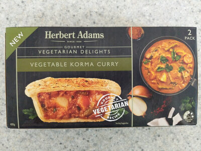 Vegetable Korma Curry Pie - Product - en