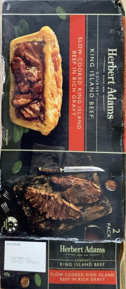 Slow cooked king island beef in reach gravy - Product - en