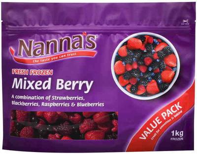 Nanna's Mixed Berries - Product - en
