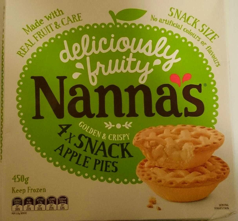 4 Snack apple Pies - Product - en