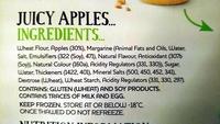 4 Snack apple Pies - Ingredients - en