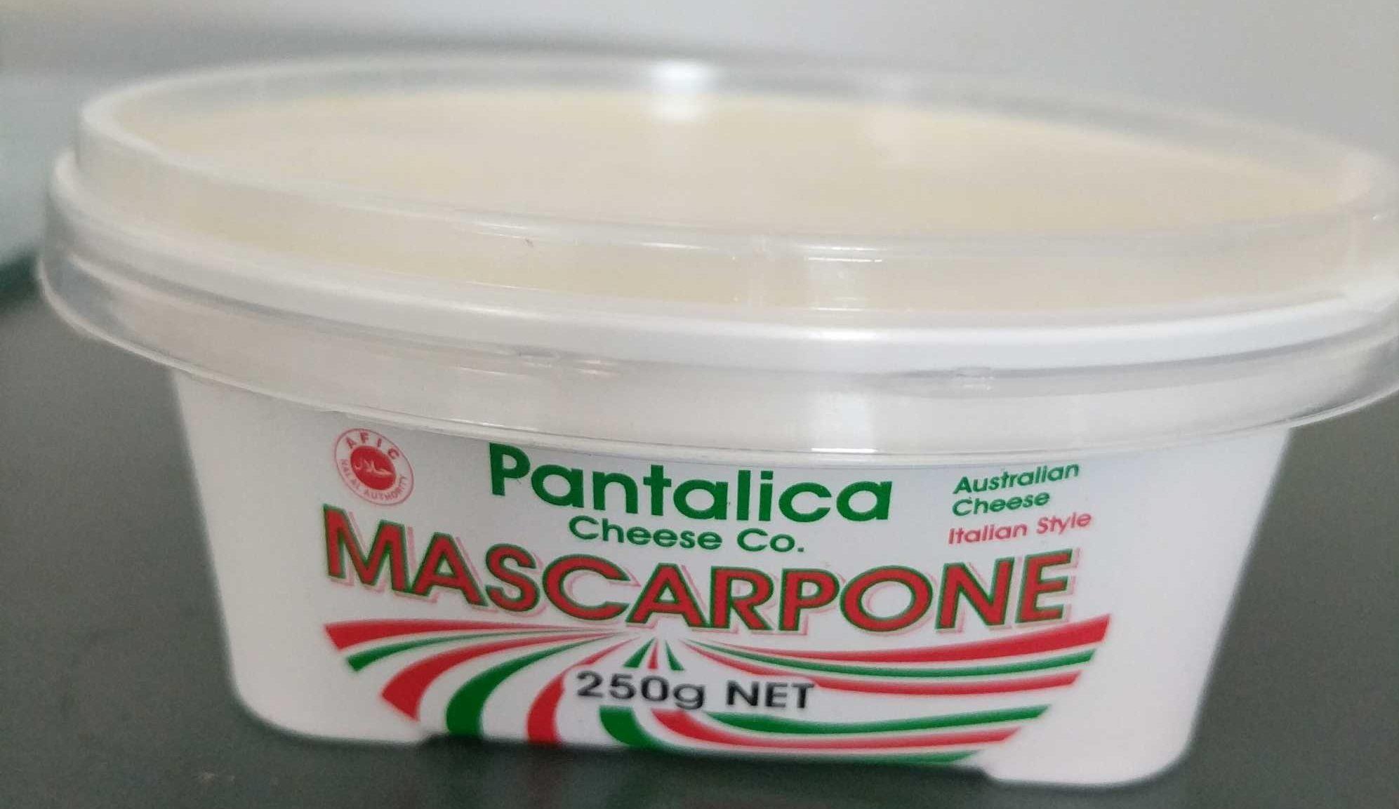 Pantalica Cheese Co Mascarpone - Product