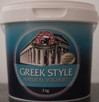 Greek Style Natural Yoghurt - Product