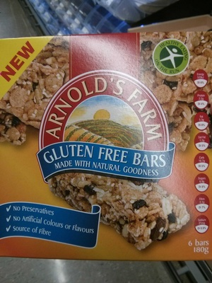 Gluten free bars - Product