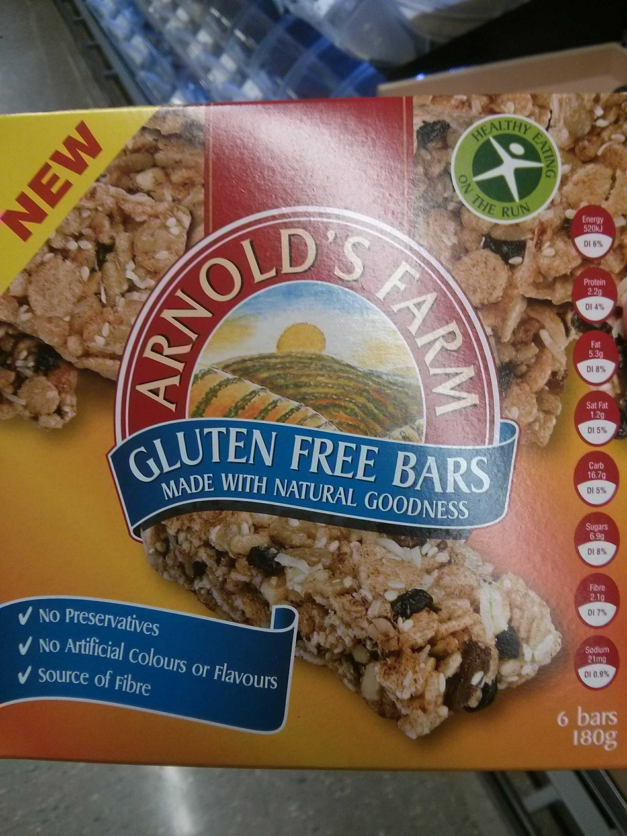 Gluten free bars - Produit