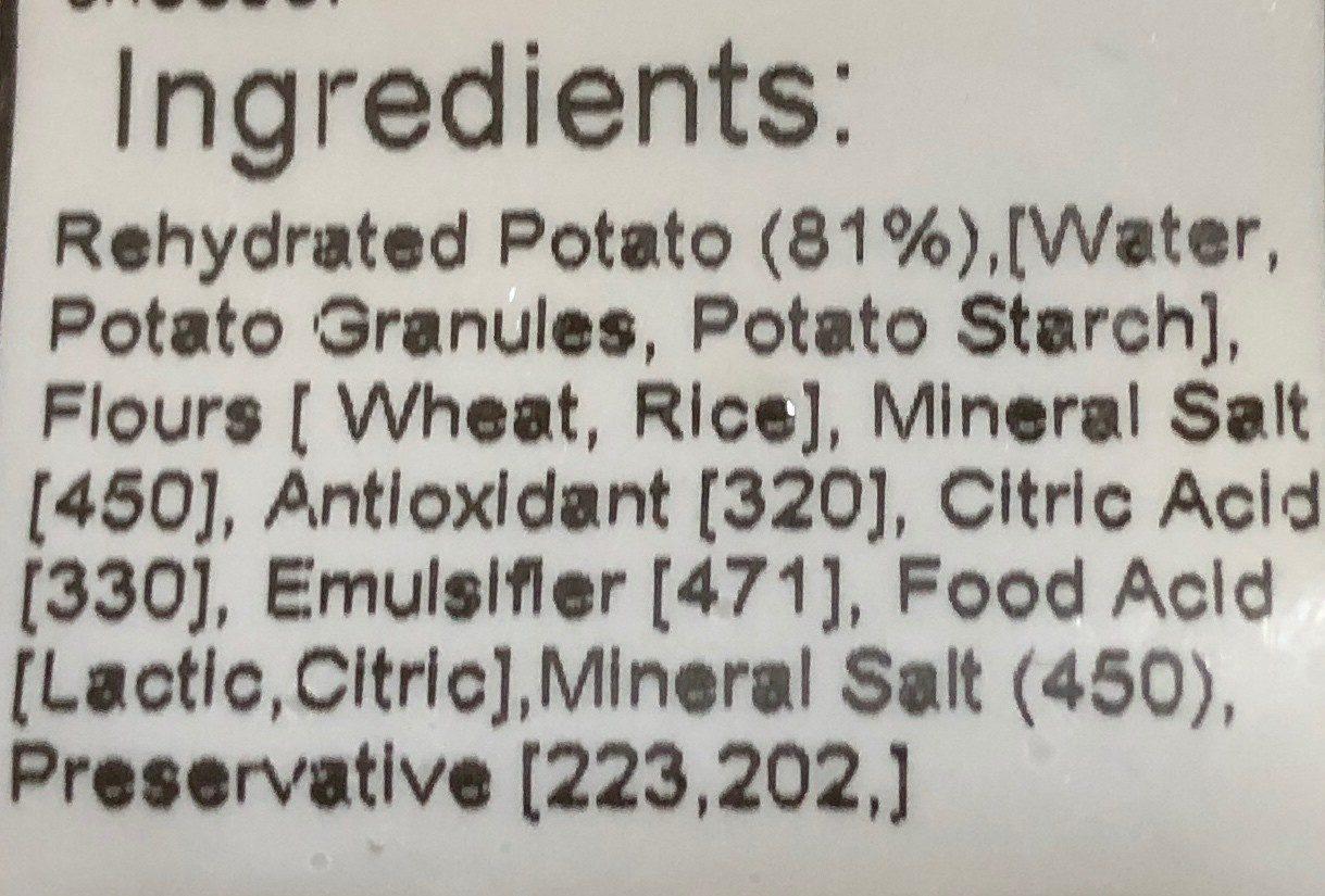 Traditional gnocchi - Ingredients - en