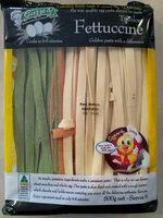 Tricolore Fettuccini Pasta - Product - en