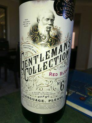 Gentleman's Collection Red Blend - Product - en