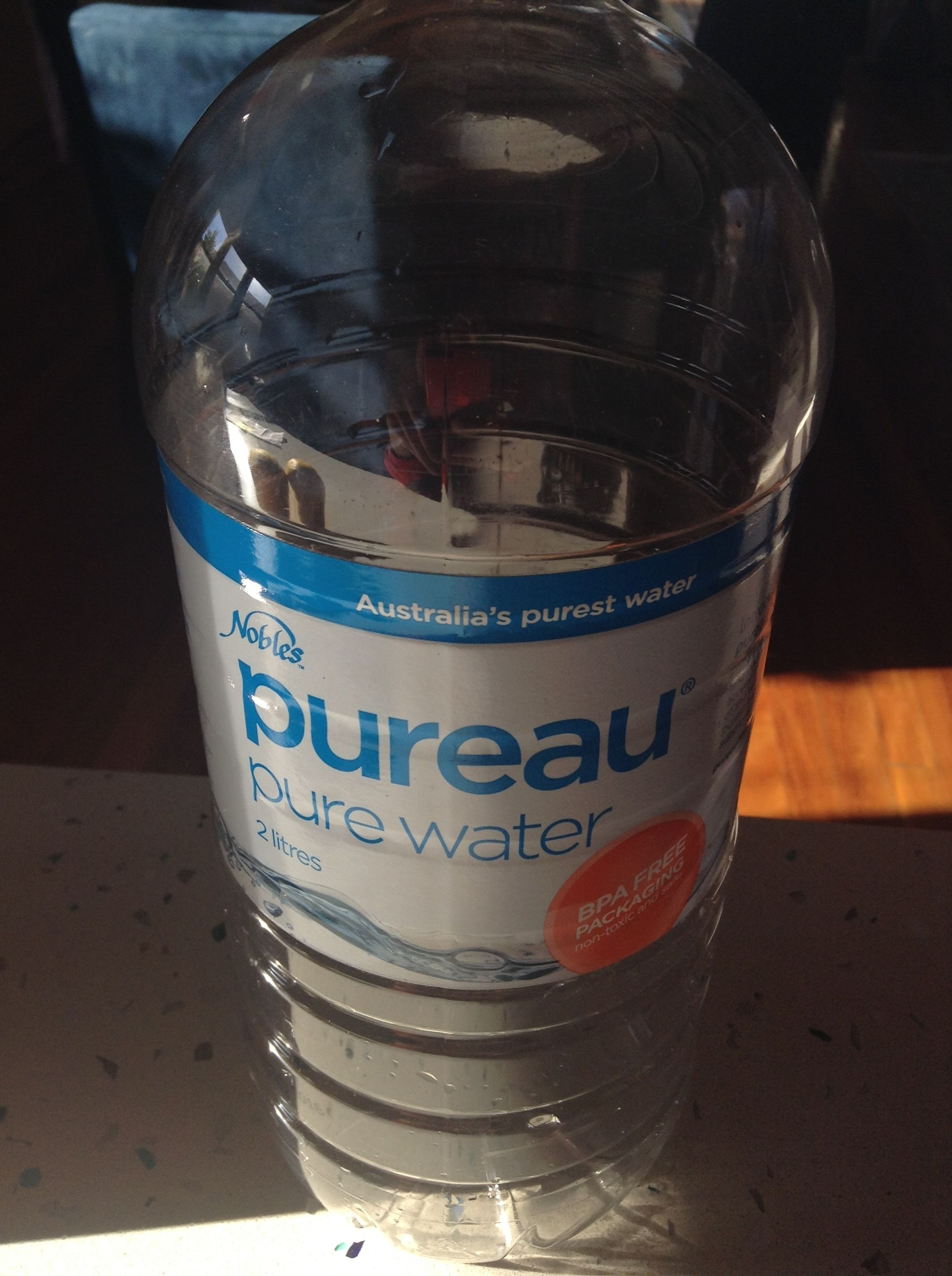 Pureau - Pure Water BPA Free Packaging non toxic and safe - Product