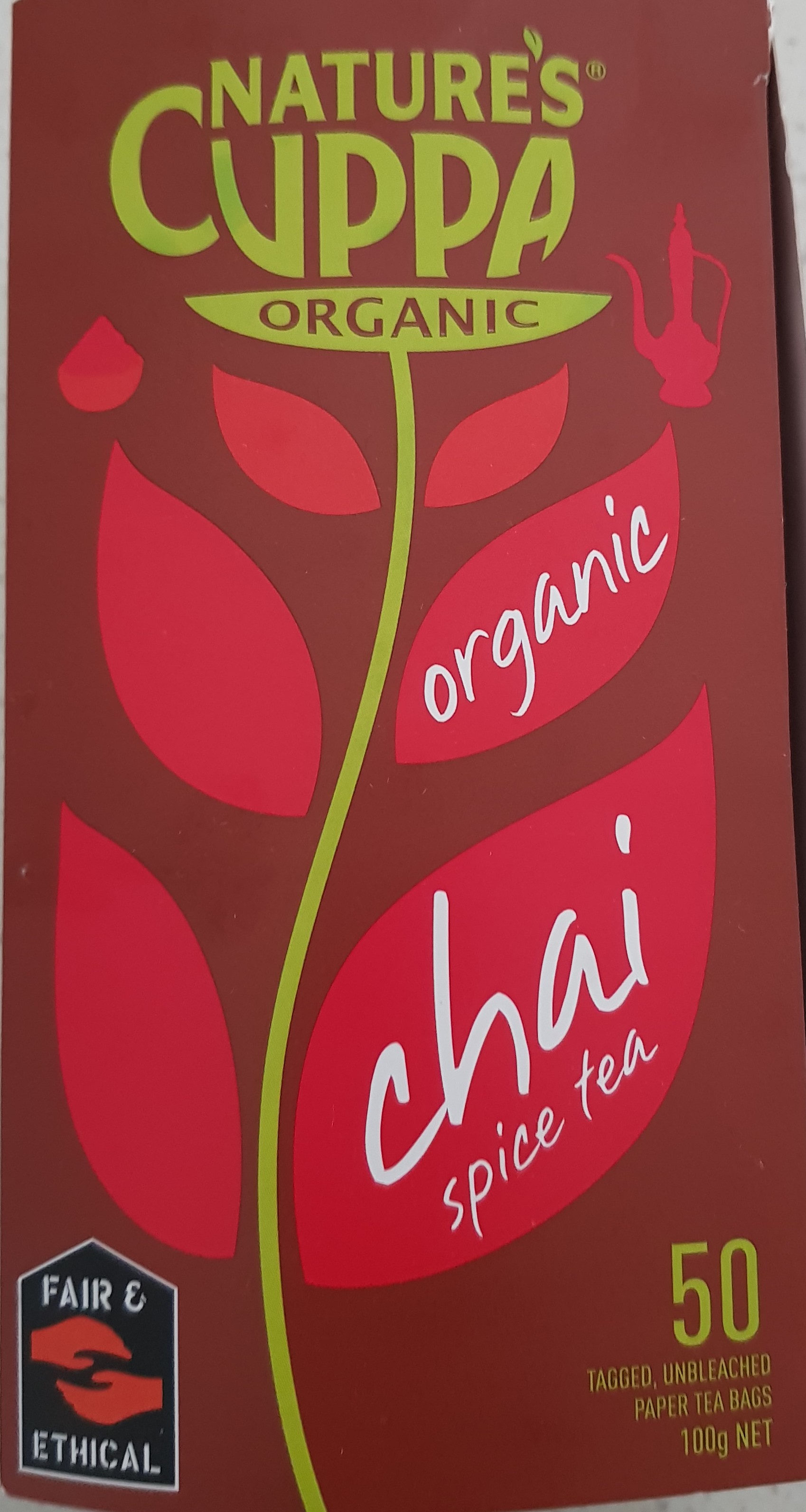 Organic Chai Spice Tea - Product - en