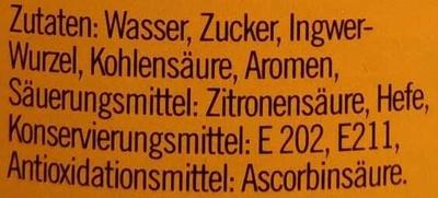 Ginger Brew - Ingredients - de