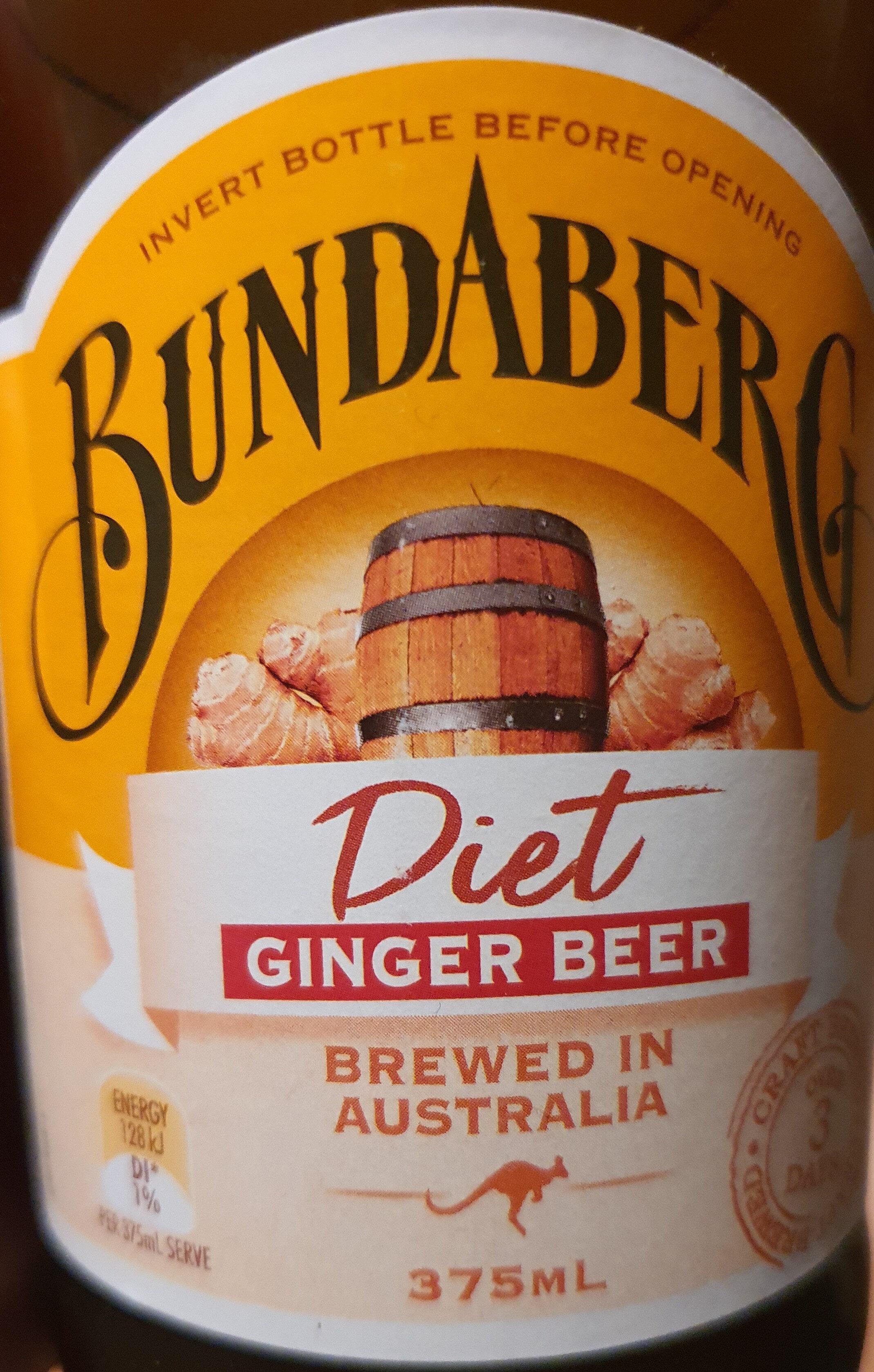 Bundaberg Diet Ginger Beer - Product - en