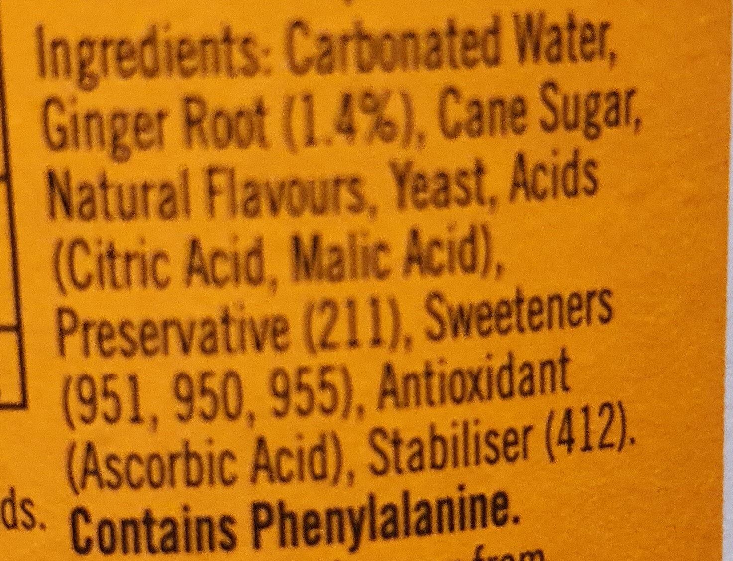 Bundaberg - Ingredients - en