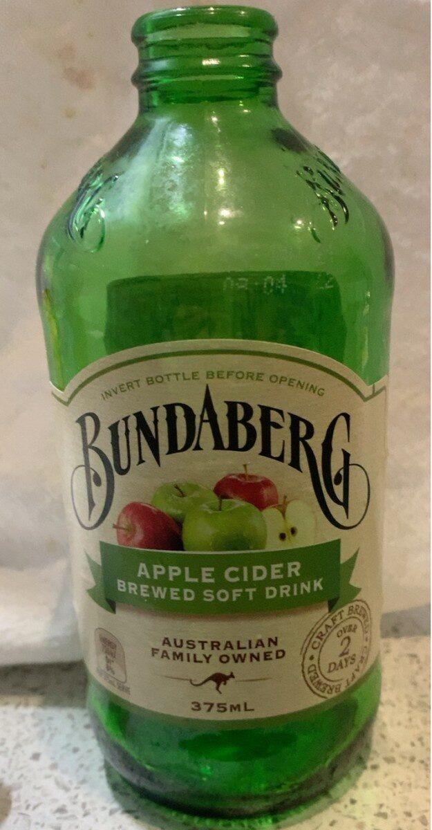 Apple Cider Brewed Softdrink - Product - en