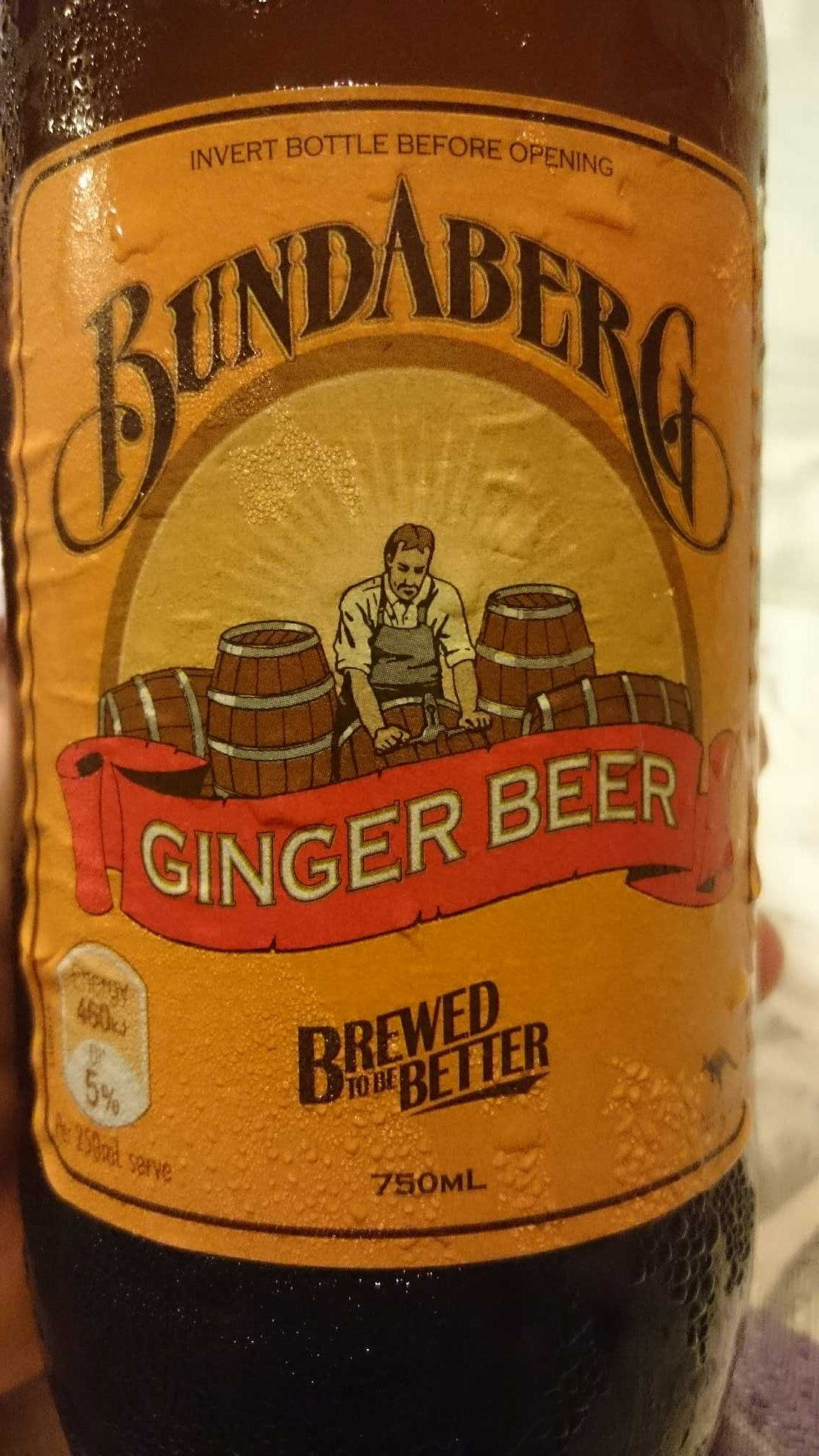 Bundaberg - Ginger Beer - Product - en