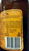 Bundaberg - Ginger Beer - Ingredients - en