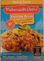 Vegetable Biryani - Product