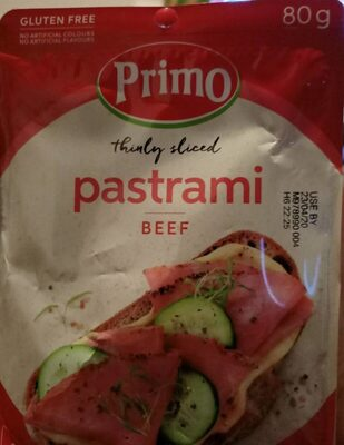 pastrami beef - Product