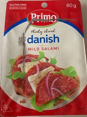 Danish mild salami - Product - en
