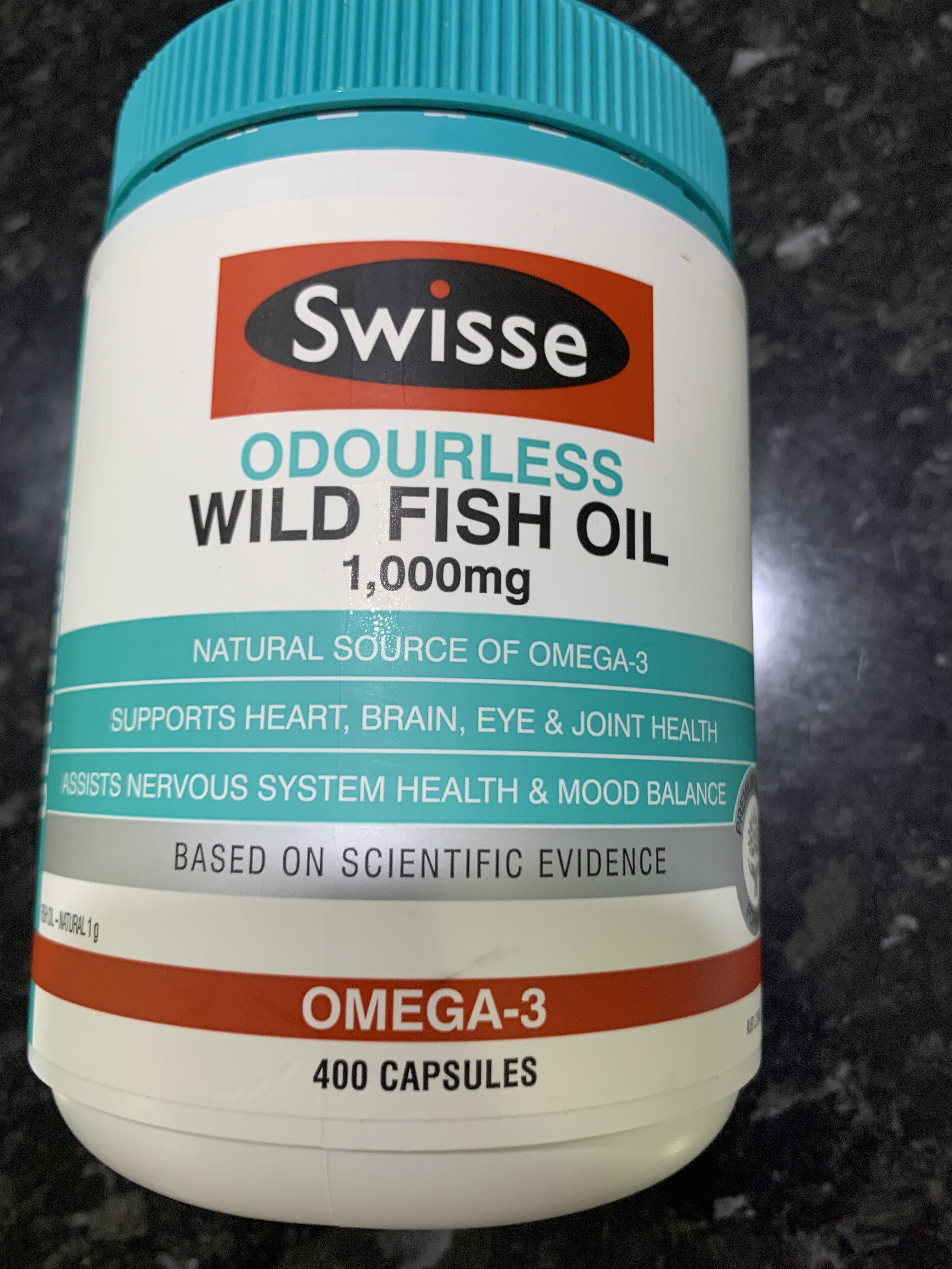 Odourless wild fish oil - Product - en