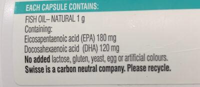 Odourless wild fish oil - Ingredients - en