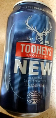 Tooheys New Beer - Product